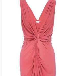 Beautiful fuschia knot dress